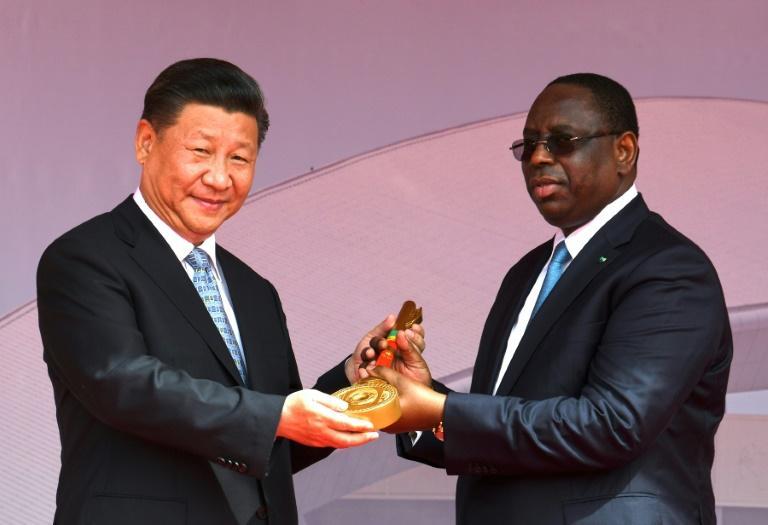 Les présidents sénégalais et chinois inaugurent une arène de lutte à Dakar