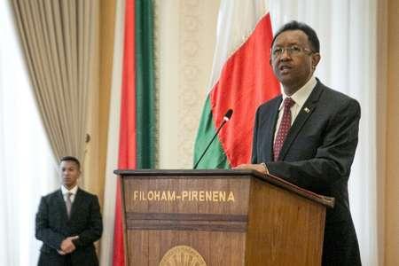 Le président malgache candidat à sa propre succession