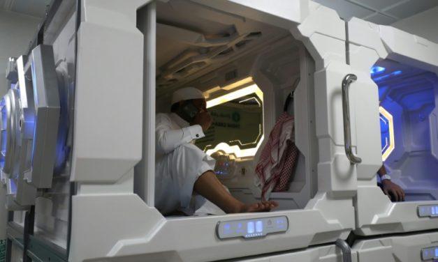 A La Mecque, des «hôtels capsule» pour requinquer les pèlerins