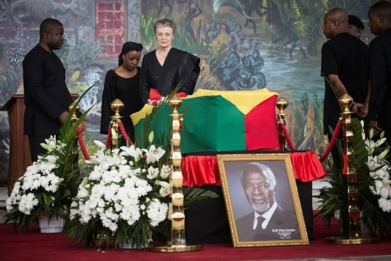 Derniers hommages à Kofi Annan au Ghana: un homme d'un «optimisme tenace»