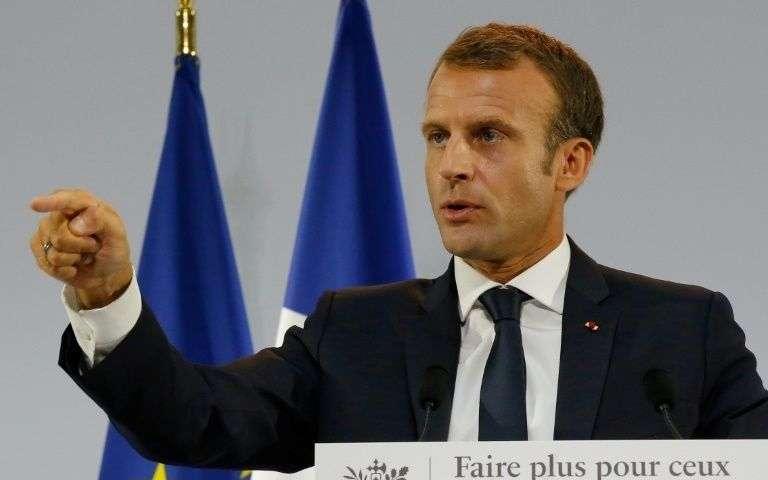 Macron lance la mobilisation contre le «scandale de la pauvreté»