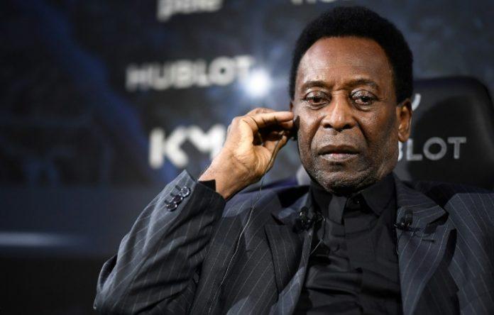 L'ancien footballeur brésilien Pelé, à l'hôtel Lutetia à Paris, le 2 avril 2019 afp.com - FRANCK FIFE