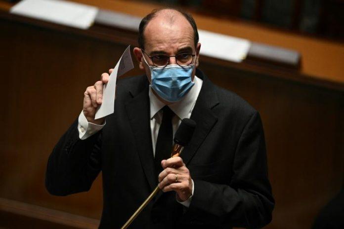 Le Premier ministre Jean Castex à l'Assemblée nationale à Paris le 20 octobre 2020 afp.com - Christophe ARCHAMBAULT