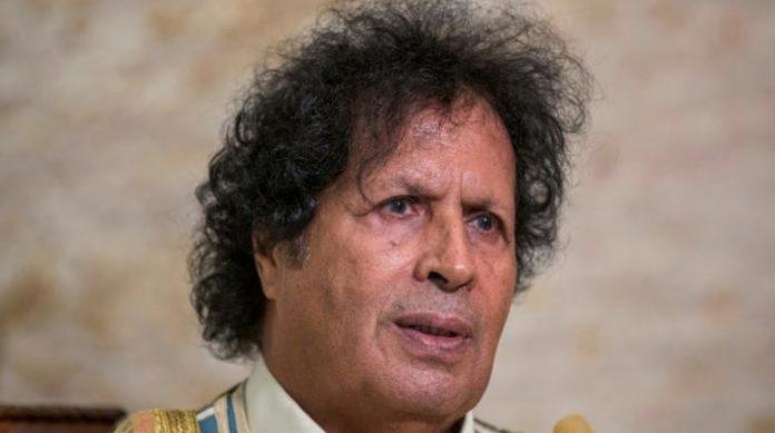Ahmed Kadhaf al-Dam, cousin de Mouammard Kadhafi, lors d'une interview à l'AFP dans sa résidence du Caire, le 2 novembre 2020 afp.com - Khaled DESOUKI
