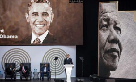 En Afrique du Sud, Obama dégaine les coups contre Trump… sans le nommer
