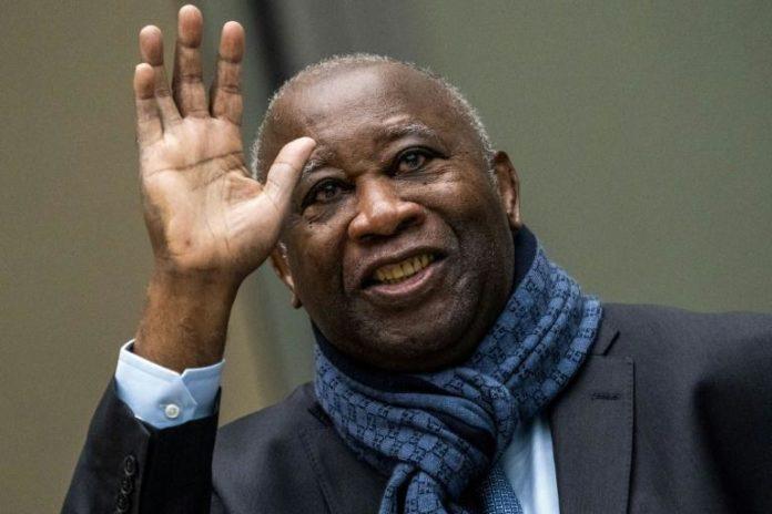 L'ancien président ivoirien Laurent Gbagbo, le 6 février 2020 avant une audience de la Coup d'appel de la Cour pénale internationale, à La Haye afp.com - Jerry LAMPEN