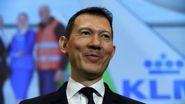 Le directeur général d'Air France-KLM, Benjamin Smith