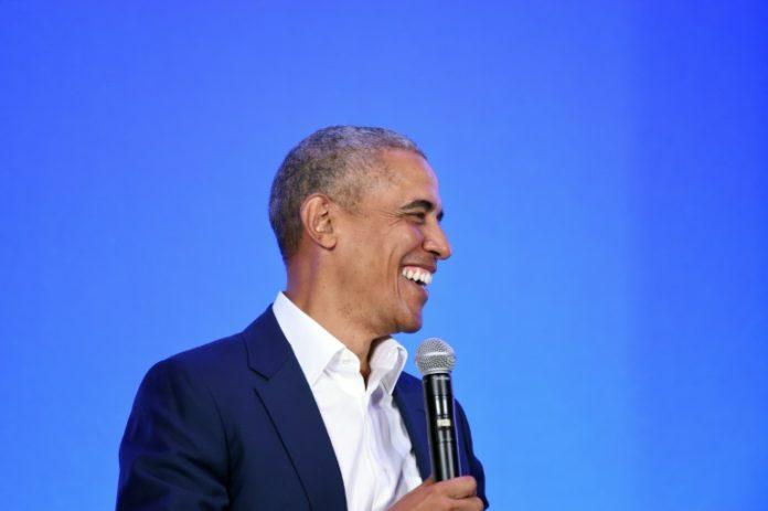 Barack Obama à Oakland en Californie le 19 février 2019 afp.com - Josh Edelson