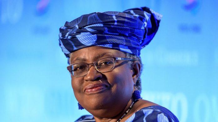 Ngozi Okonjo-Iweala, ancienne ministre des Finances du Nigeria, à Genève le 15 juillet 2020 afp.com - Fabrice COFFRINI