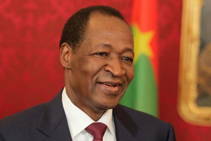 Blaise Compaoré, alors président du Burkina Faso, le 14 juin 2013 à Vienne afp.com - DIETER NAGL