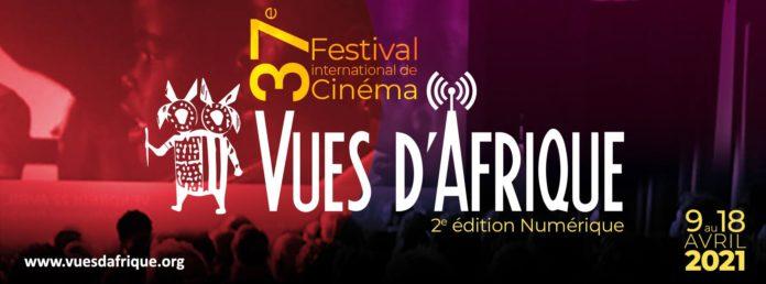 Logo du 37è Festival international de cinéma Vues d'Afrique