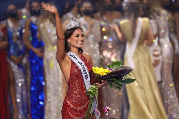 Miss Mexico, Andrea Meza, est couronnée Miss Univers 2021 le 16 mai 2021 à Hollywood (Etats-Unis, Floride) afp.com - Rodrigo Varela