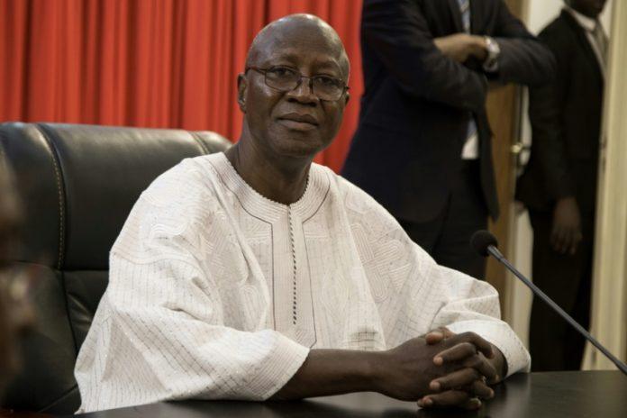 Le Premier ministre burkinabè Christophe Dabiré en janvier 2019 à Ouagadougou afp.com - OLYMPIA DE MAISMONT