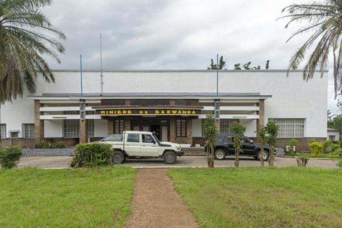 Le siège de la Miba (Minière de Bakwanga) à Mbuji-Mayi, en République démocratique du Congo (RDC) le 3 mai 2021 afp.com - Marthe Bosuandole