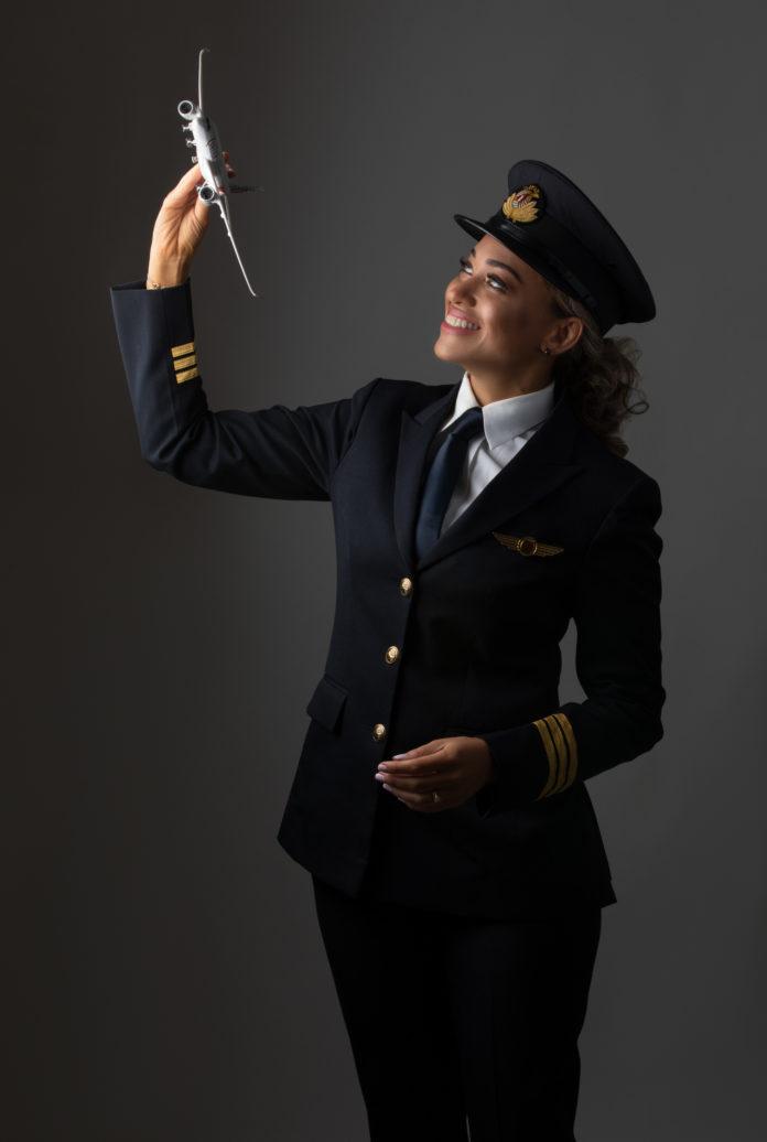 Edith Mala Diop, Pilote d'avion-cargo