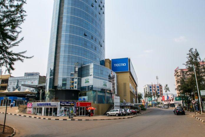 La capitale rwandaise Kigali désertée au premier jour d'un reconfinement, le 19 janvier 2021 afp.com - STRINGER