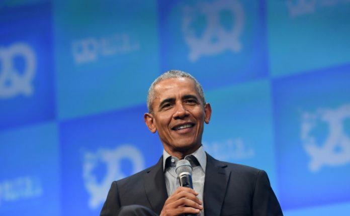 Barack Obama à Munich, en Allemagne, le 29 septembre 2019 afp.com - Christof STACHE