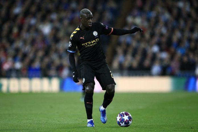 Le défenseur français de Manchester City, Benjamin Mendy
