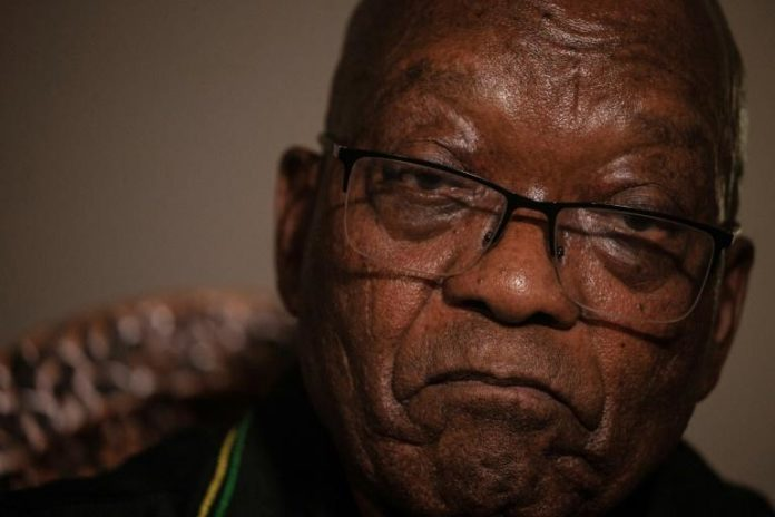 Jacob Zuma, chez lui, à Nkandla, le 4 juillet 2021 afp.com - Emmanuel Croset