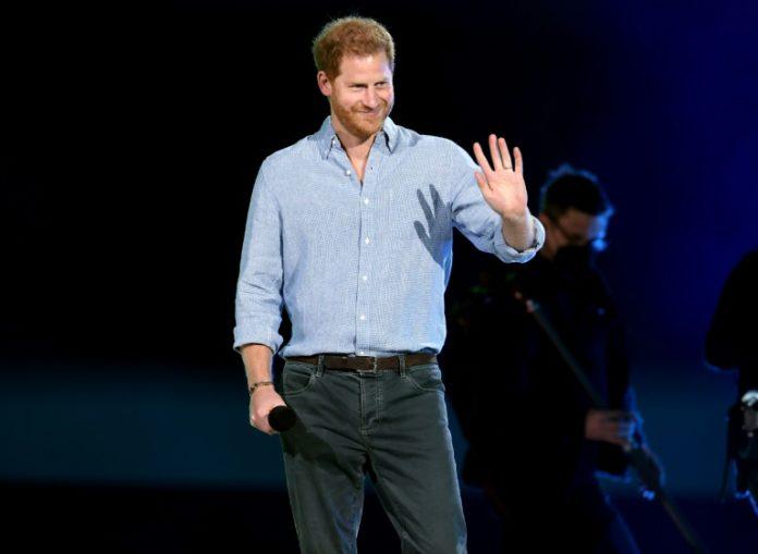 Le prince Harry à Inglewood, en Californie, le 8 mai 2021 afp.com - KEVIN WINTER