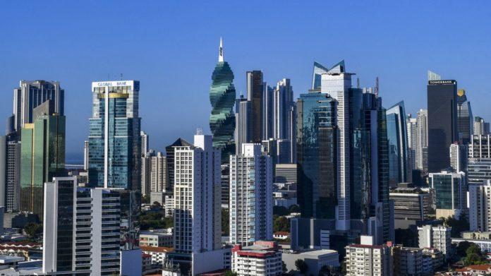 Vue du centre financier à Panama, le 25 avril 2019 afp.com - Luis ACOSTA